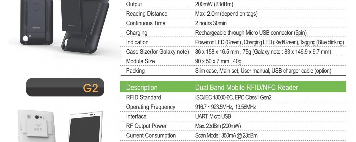 Ajantech Mobile RFID Reader Brochure
