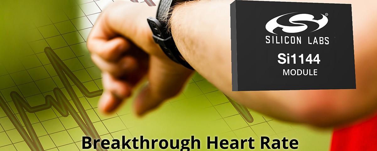 실리콘랩스가 심박수 모니터링 센서 솔루션을 출시했습니다